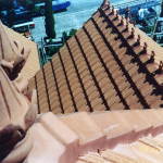 New roof in Terracotta